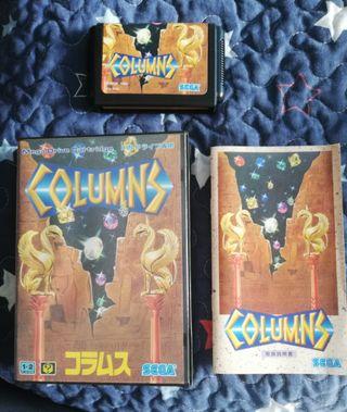 Mega Drive Colums Completo JAP