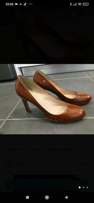 Zapatos Fosco color caramelo. Preciosos!