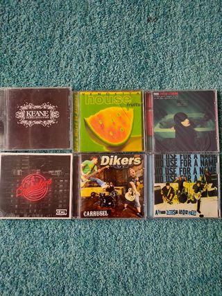 Discos cd. (No son vinilos)