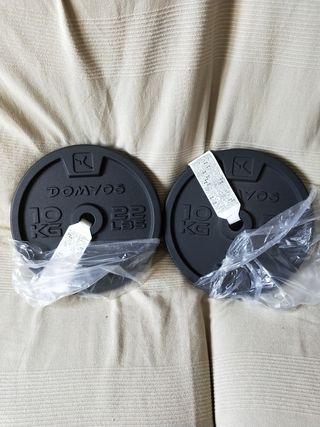 II discos 10 kg a estrenar