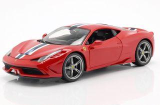 Maisto Ferrari 458 Speciale rojo maqueta coche