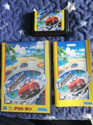 Mega Drive Outrun Completo JAP