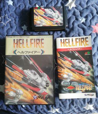 Mega Drive Hellfire Completo JAP