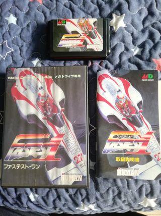 Mega Drive Fastest 1 Completo JAP