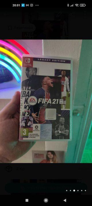 FIFA 21 legacy edición Nintendo switch NUEVO
