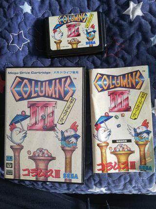 Mega Drive Columns III Completo JAP