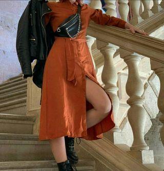 Vestido largo Salsa