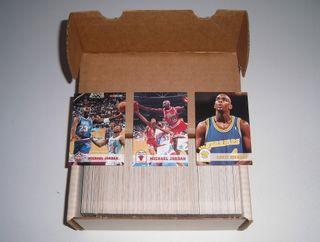 Coleccion Completa NBA Baloncesto Jordan tarjetas