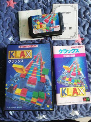 Mega Drive Klax Completo JAP