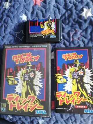 Mega Drive Dick Tracy Completo JAP