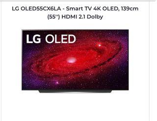 Tv LG OLED55CX6LA 4K 55