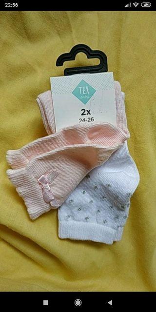 Calcetines bebé niña