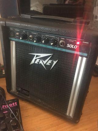 Amplificador Peavey Solo 10-15 Watt portable