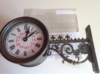 Reloj ferroviario Pared Reproducción miniatura