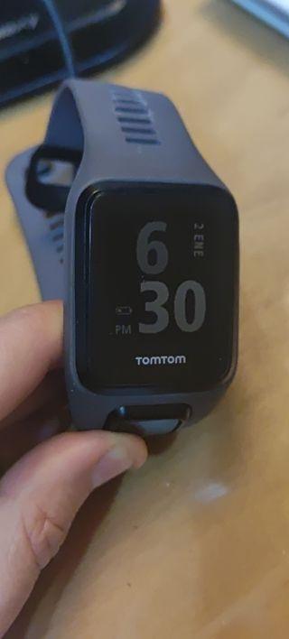 Reloj GPS pulsómetro TomTom adventurer