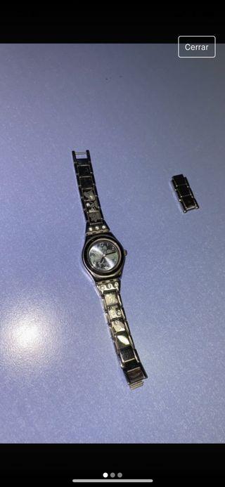 Reloj suizo acero