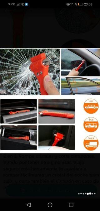herramienta emergencia 2 x 1 coche