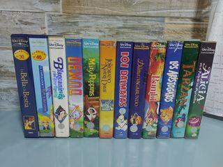 Películas Disney: Los Clásicos en VHS