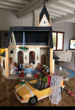 Playmobil iglesia. Ref: 4296