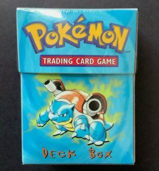 Box deck Blastoise 1st precintada