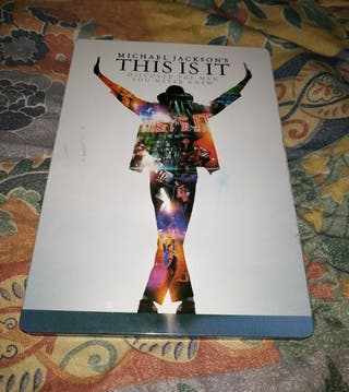 DVD MICHAEL JACKSON This is it ED. ESPECIAL 5 €