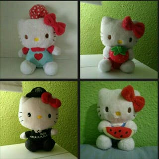 Lote peluches Hello Kitty