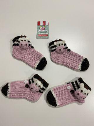 2 Pares de calcetines antideslizantes. LES CAMISET