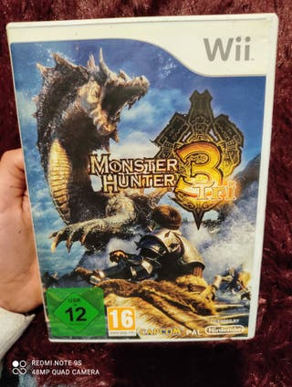 Juego Wii Monster Hunter