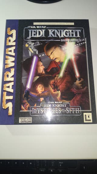 Star Wars Jedi Knight y Misteries of the Sith PC