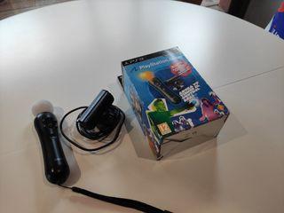 Mando Move PS3 + cámara