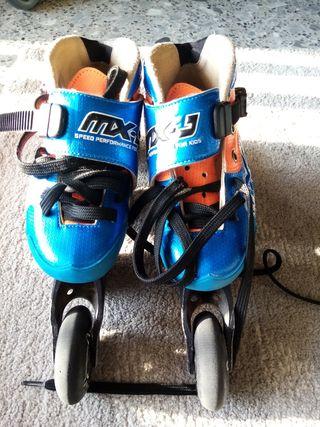 patines de velocidad o carrera, speed skates 32