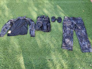 conjunto ropa táctica militar
