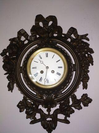 reloj de pared cartel frances