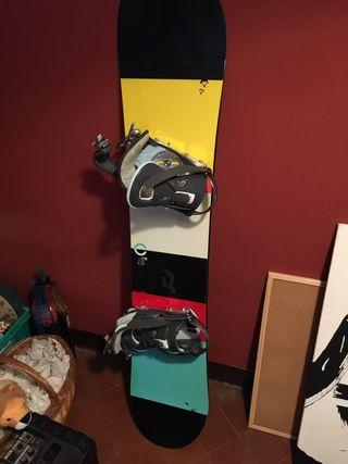 Set snowboard mujer