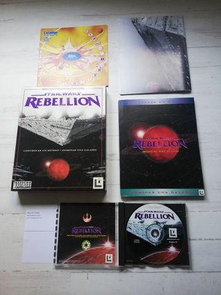 Colección juegos PC STAR WARS