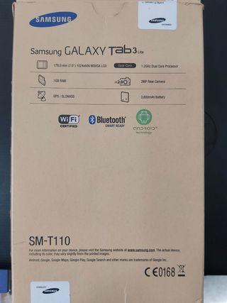 "TABLET SAMSUNG GALAXY TAB 3. 7"" FUNDA REGALO"