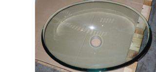Lavabo cristal ovalado