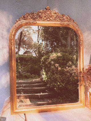 Impresionante Espejo Antiguo Clásico