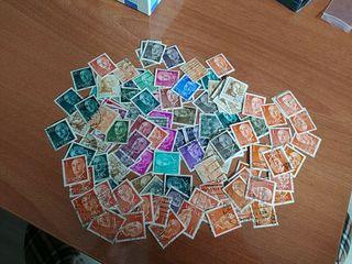 Lote sellos de Franco