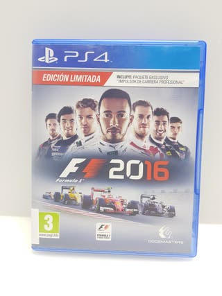 Videojuego PS4 F1 2016
