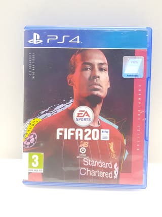 Videojuego PS4 FIFA 20