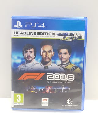 Videojuego PS4 F1 2018