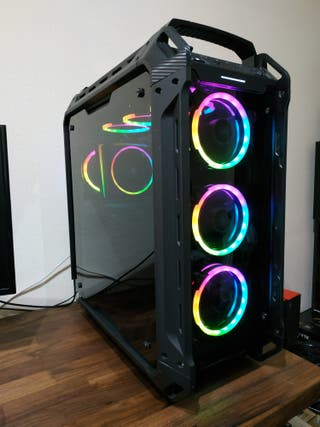 PC gaming Ryzen 7 8 núcleos 16GB SSD+2TB GTX 1060