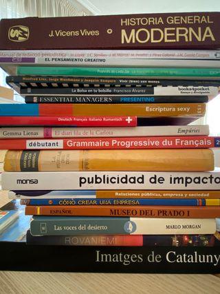 Precio por TODO el pack 19 libros