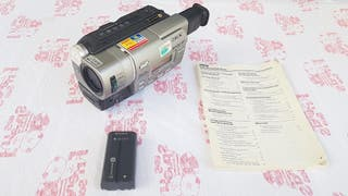 Videocamara sony ccd-tr717e video 8 e hi8 lp sp