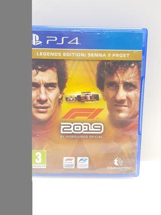 Videojuego PS4 F1 2019