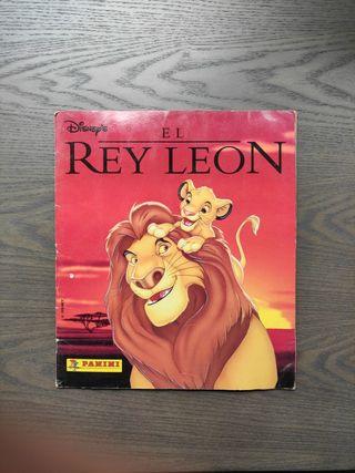 Album de cromos Panini El rey león 1994