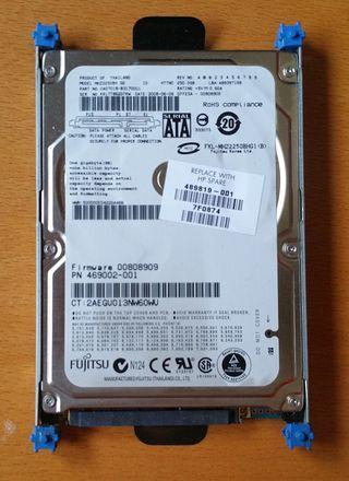 "DISCO DURO FUJITSU 230 GB. ATA, 2.5"""