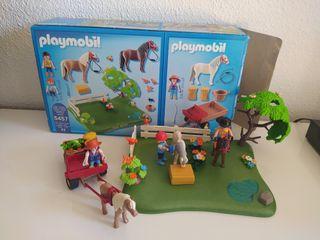 Playmobil 5457 Granja ponys. Año 2014