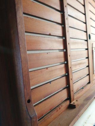 mesa de jardín madera de teca